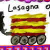 Lasagna on wheels